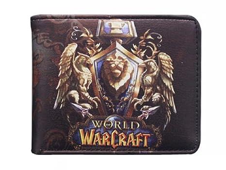 Cartera Billetera de Alianza World of Warcraft Negro