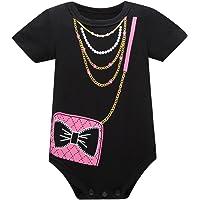 Huata Baby Boys Girls Short Sleeve Onesies Bodysuit Baby Romper