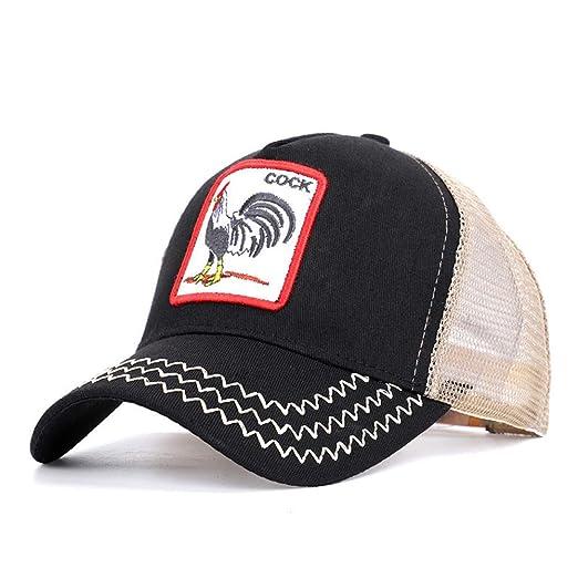 Gorra de béisbol Bordada de Malla de béisbol Gorra de Sombrero de ...