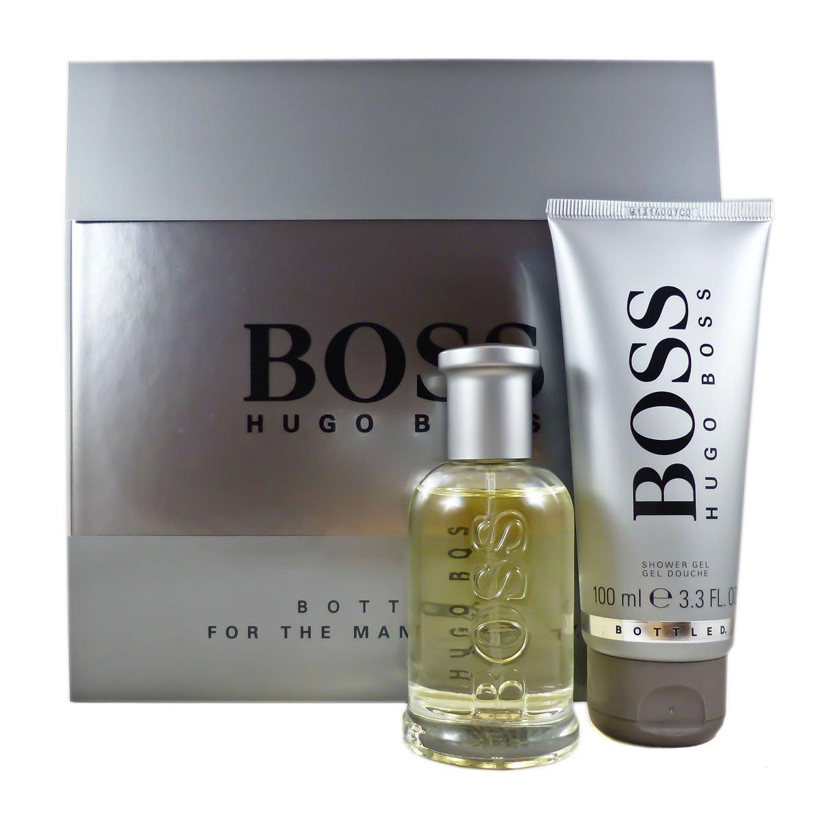 Hugo Boss Bottled Set homme/men, Eau de Toilette 50 ml und Duschgel 100 ml, 1er Pack (1 x 150 ml) 1B54022 BSS00070
