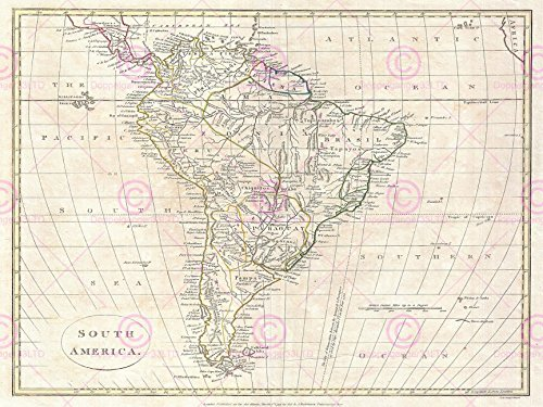 giant map of south america - 2