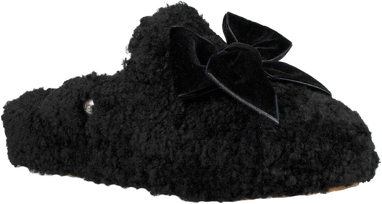 ugg noire avec noeud