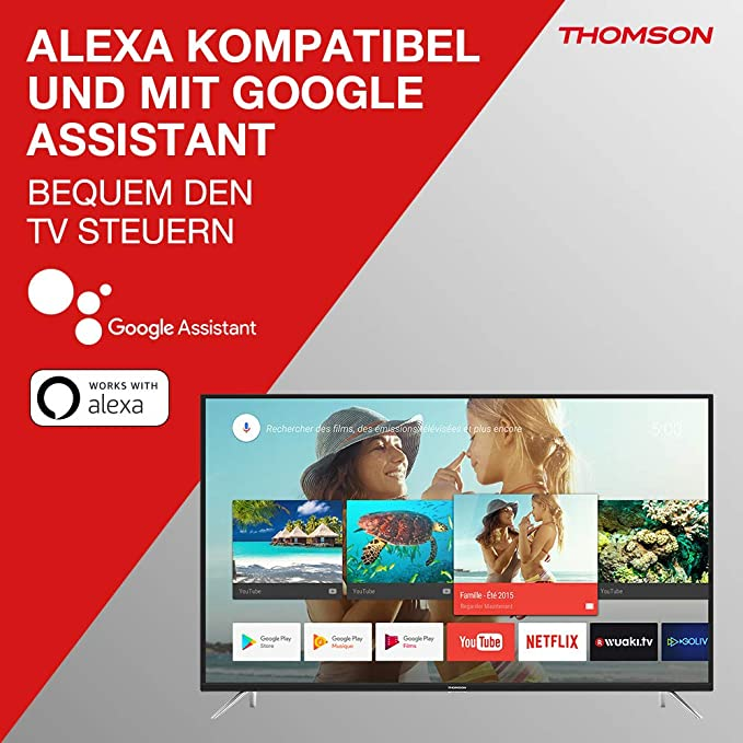 Televisore Thomson TV LED Serie UE64 4K UHD Android TV: Amazon.es: Electrónica