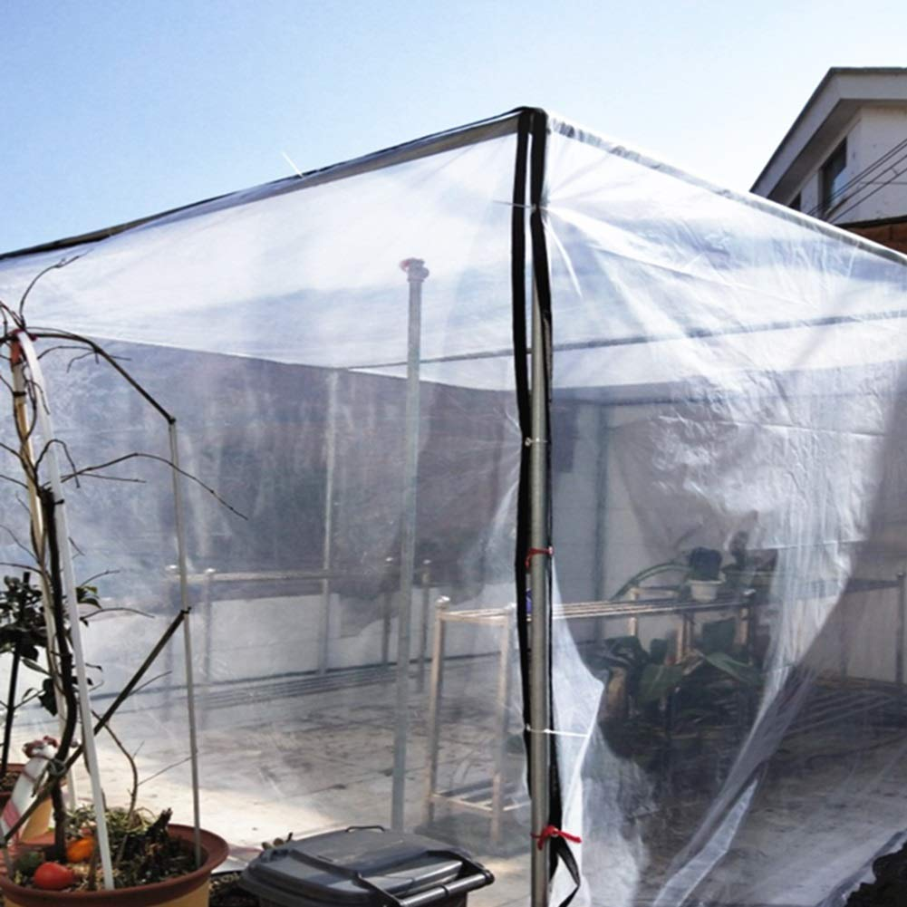 Der Blumen-Betriebsisolierungs-Film Bedeckt Verdicktes 0.12mm Transparentes Plane-Fenster-windundurchl/ässiger Plastik