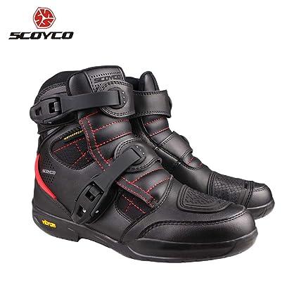 Amazon Com Scoyco Motorcycle Boots Men Waterproof Moto Boots