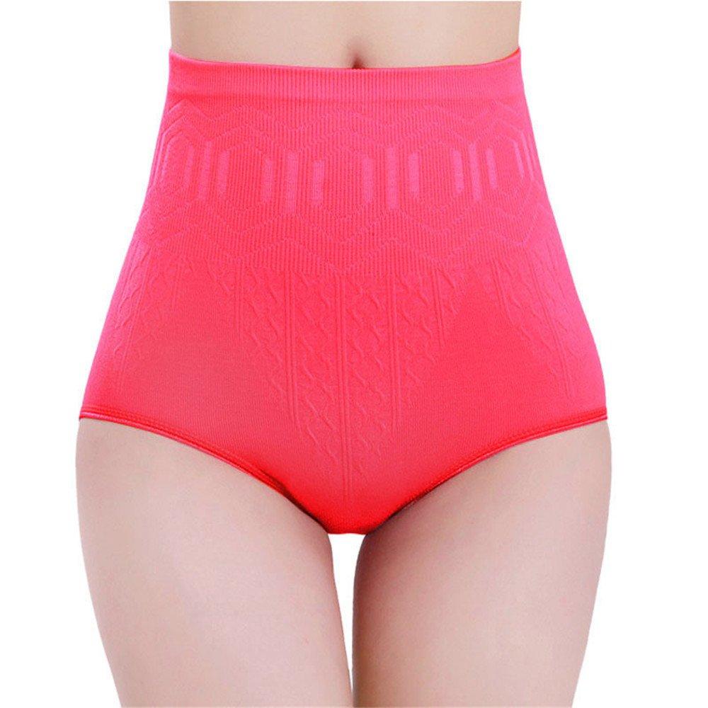 Vickyleb Womens Underwear High Waist Tummy Control SeamlessBody Shaper Briefs Slimming Pants Shapewear