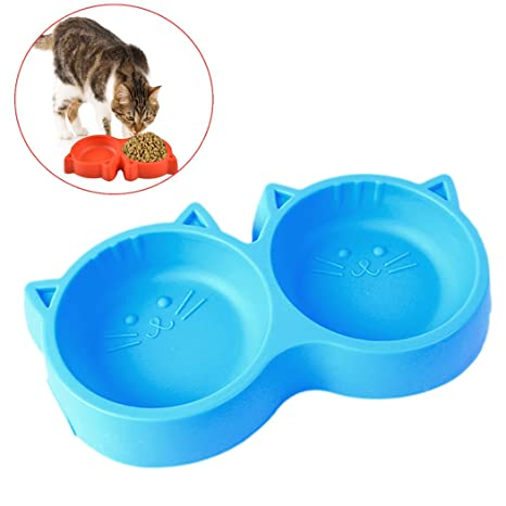 Cuenco De Comida Para Gatos, Legendog Cuenco De AlimentacióN Del Gato Cuenco Doble Para Perros