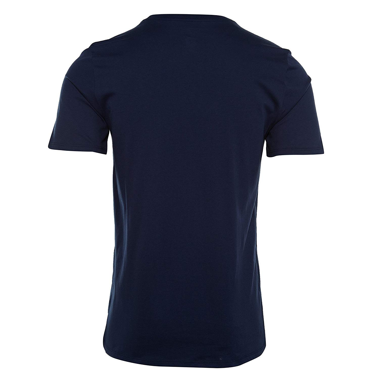 7ba0d9094a9 Amazon.com: Jordan Retro 11 North Graphic Men's Shortsleeve T-Shirt Navy  Blue/Aqua Blue aj1377-410 (Size S): Clothing