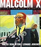 img - for Malcolm X: A Fire Burning Brightly book / textbook / text book