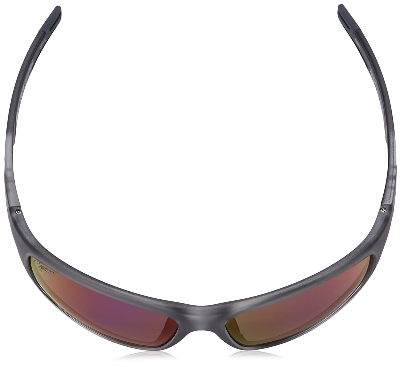 Typhoon Mens Tropic Storm Polarized Iridium Wrap Sunglasses