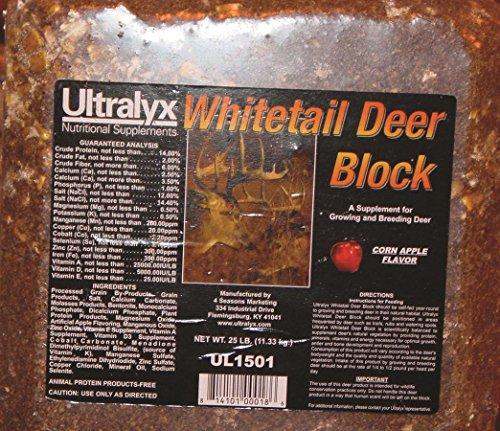 Ultralyx 281581 Whitetail Deer Block, 25 lb
