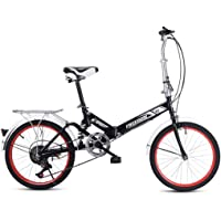 DERTHWER Folding Bicycle XC550 Road Bike Front and Rear V Brake Bicycle for Men Women Foldable Bicycle,Lightweight…