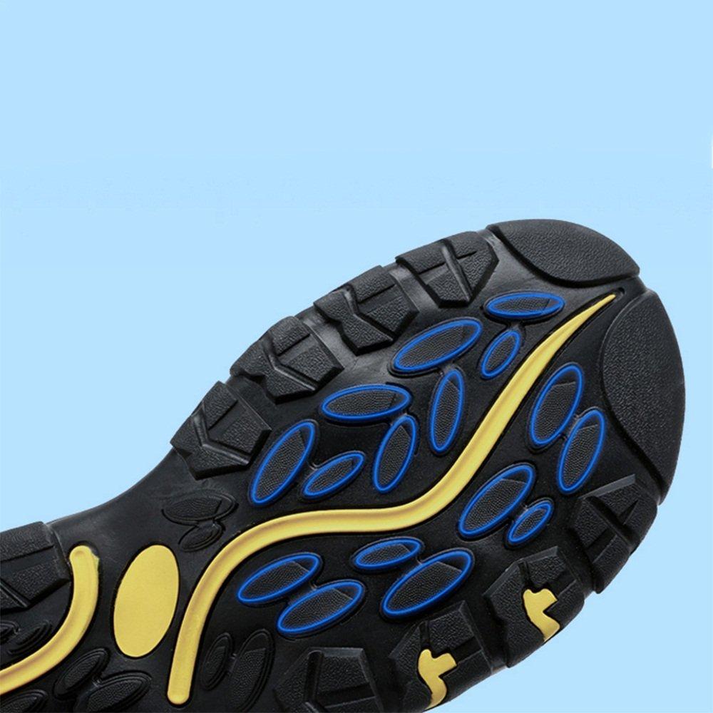 ZHANGRONG- Herren Sommer Sport Sandalen Leder Closed-Toe Outdoor : Sandalen Trekking Schuhe (Farbe : Outdoor C, Größe : EU41/UK7.5-8/CN42) A 58820e