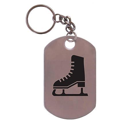 Personalizado grabado - Patines de hielo, Hockey, patinaje ...