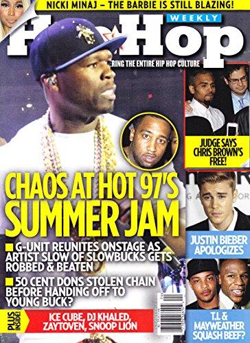 50 Cent and G-Unit, Nicki Minaj, Chris Brown, Justin Bieber, T.I. and Mayweather, Zaytoven - June 10, 2014 Hip Hop Weekly (Magazine Unit)