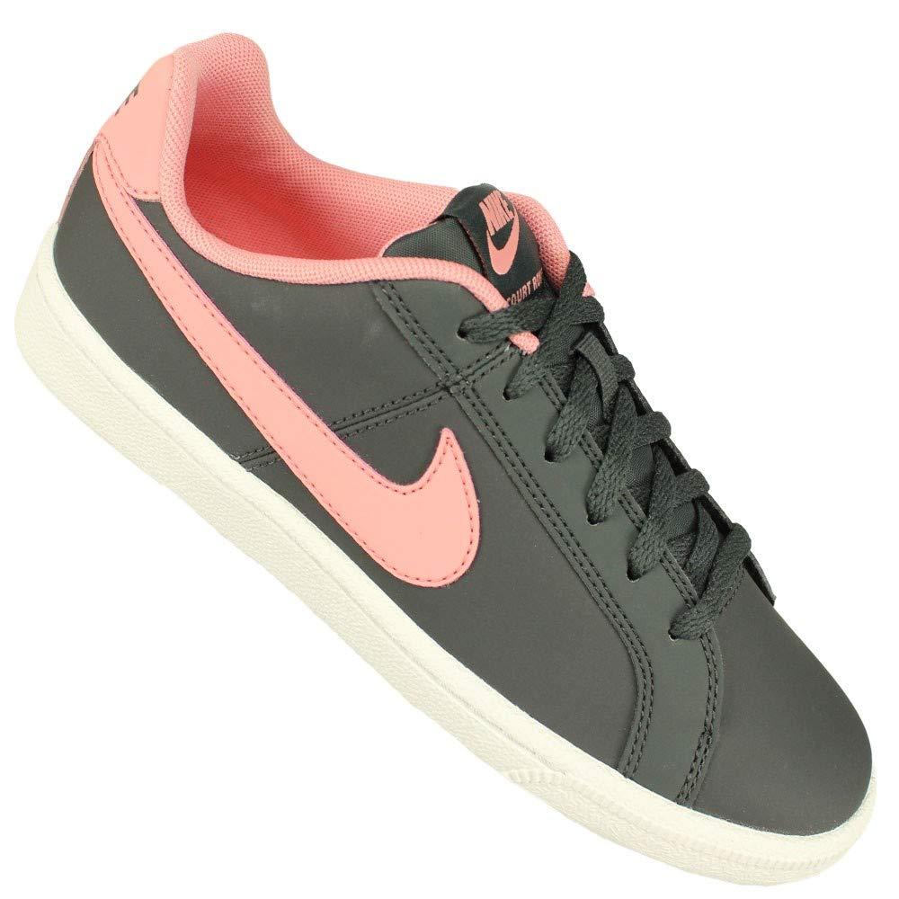 Nike Unisex-Erwachsene Hausschuhe Court Court Court Royale (Gs) Anthracite Bright Melon Weiß Fitnessschuhe 39d950