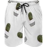 WILLEER Traje de baño para hombre, pantalones cortos de secado rápido para playa, surf, barco, vacaciones, hogar (/)