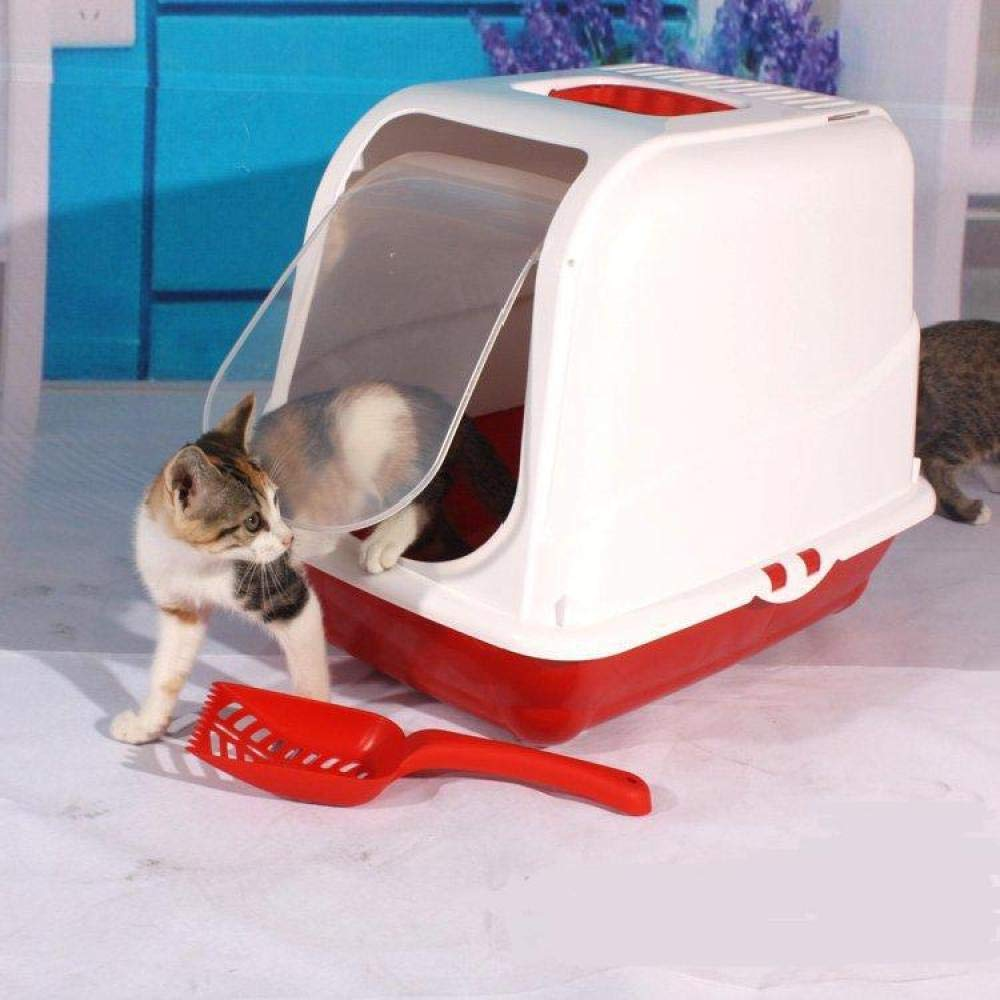 2(a) Cat toilet Fully Enclosed Litter Box (gift Litter Scoop),2(A)