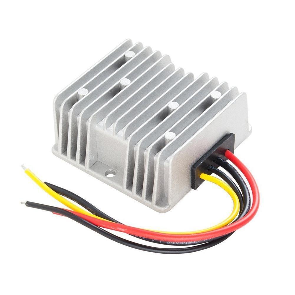 Voltage Reducer Converter Regulator DC 48V Step-down To 12V 20A For Golf Cart