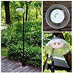 81″ Solar Power 300 Lumen Sensor Street Vintage Lamp Post Light Outdoor Garden