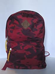 Aeropostale Camo Red School Laptop Camoflauge Backpack