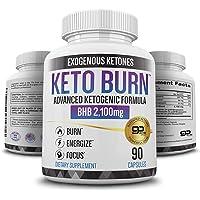 Keto Pills - 3X Dose (2100mg   90 Capsules) Advanced Keto Burn Diet Pills - Best Exogenous Ketones BHB Supplement - Max…