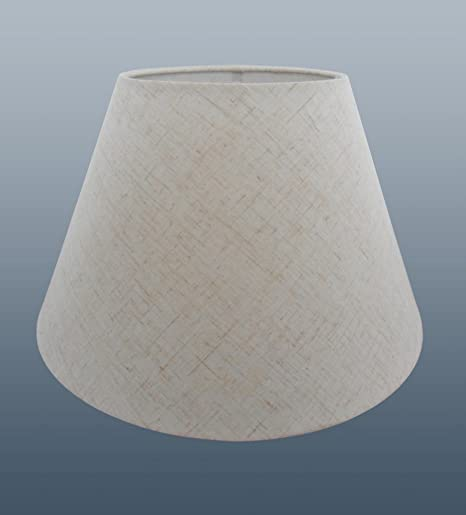 """BRAND NEW 12/"""" COTTON COOLIE PENDANT OR TABLE LAMPSHADE IN PEACH COLOUR"""