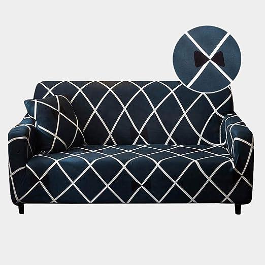 Fundas De Sofas Chaise Longue,Funda de sofá a cuadros Fundas ...