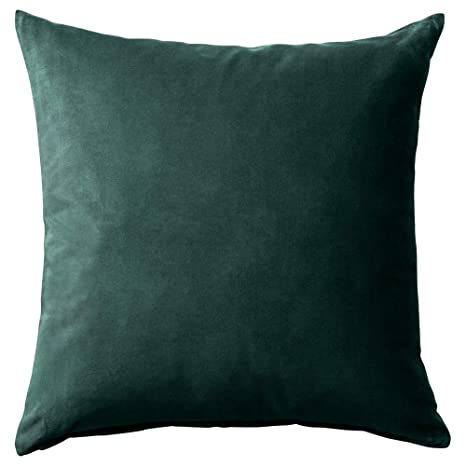 IKEA ASIA SANELA - Funda de cojín, Color Verde Oscuro ...