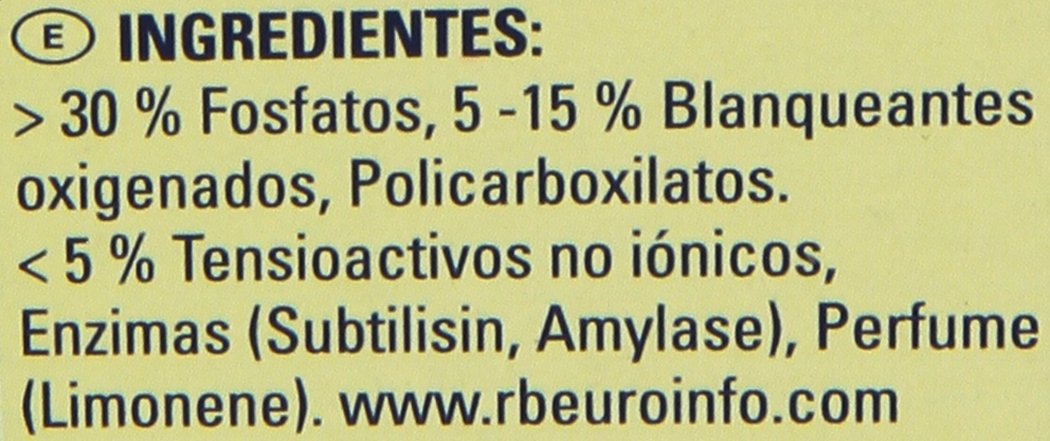 Finish Todo en 1 Original Limón Pastillas para Lavavajillas - 30 pastillas