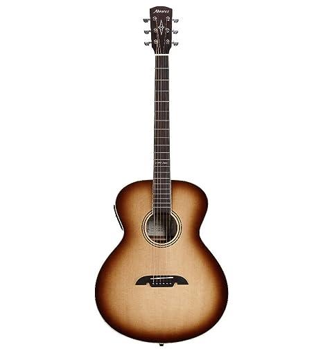 Alvarez ABT60ESHB Artist Series Baritone Shadowburst - Guitarra eléctrica acústica