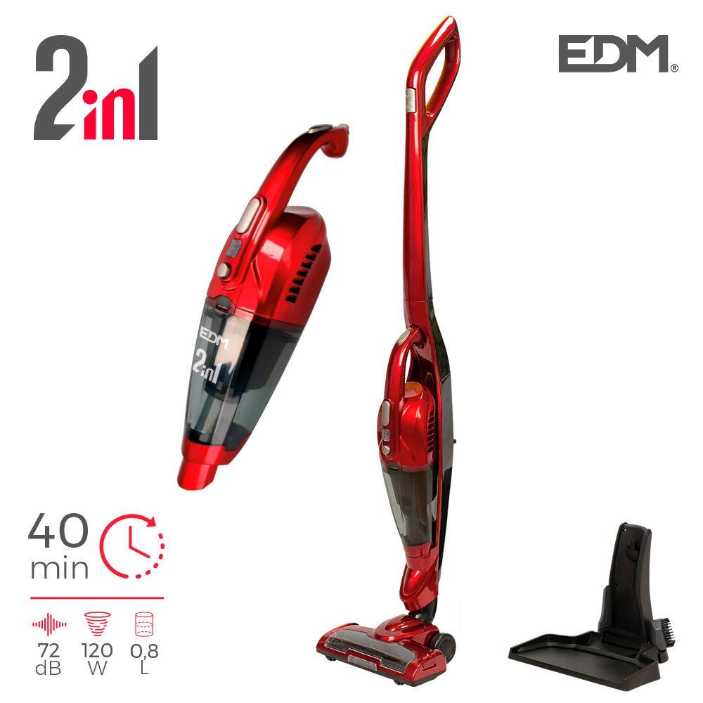 EDM 07694 Aspiradora Escoba sin Cable 2 en 1, 22.2V, 120W, Varios Colores: Amazon.es: Industria, empresas y ciencia