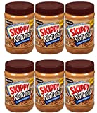 skippy all natural peanut butter - Skippy Extra Crunchy All Natural Super Chunk Peanut Butter Spread 26.5 Oz (Case of Six)
