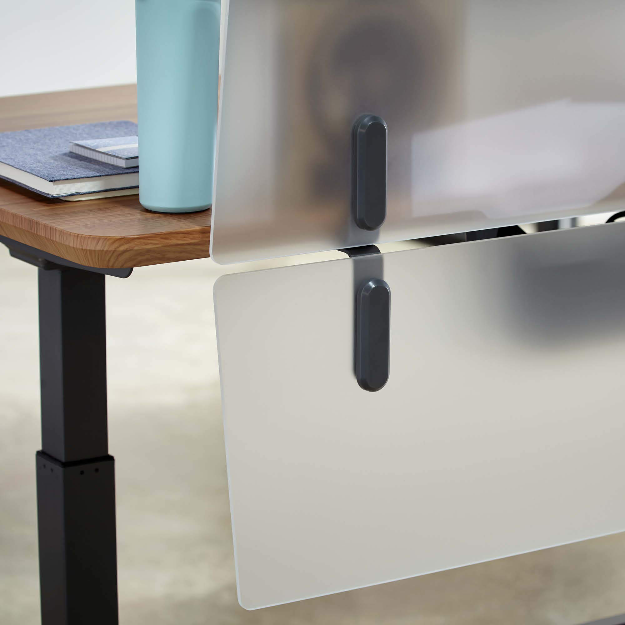 VARIDESK - ProDesk Electric Privacy and Modesty Panel 60 - Office Partition by VARIDESK (Image #3)