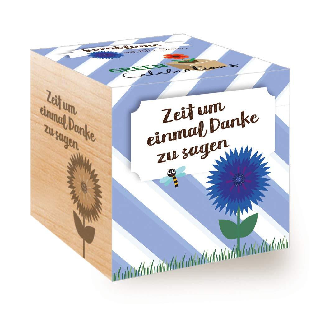Feel Green Green Celebrations Ecocube, Chili Habanero, Holzwü rfel Mit Hochwertiger Lasergravur Bleib Scharf, Nachhaltige Geschenkidee (100% Eco Friendly), Grow Your Own/Anzuchtset, Made in Austria Feel Green GmbH EX292529