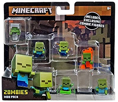 Mattel Minecraft Mini-Figure Mob Pack (Styles May Vary) Action Figure from Mattel