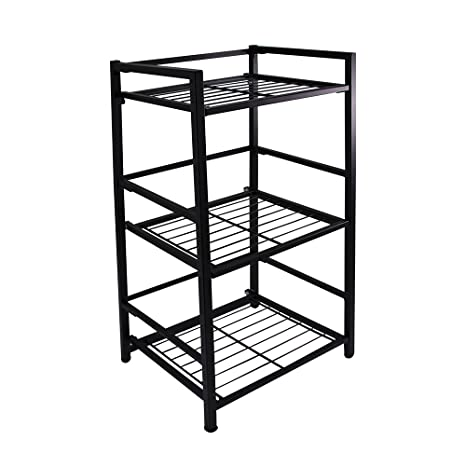 Beautiful Flipshelf Folding Metal Bookcase Small Space Solution No Assembly Home,  Kitchen