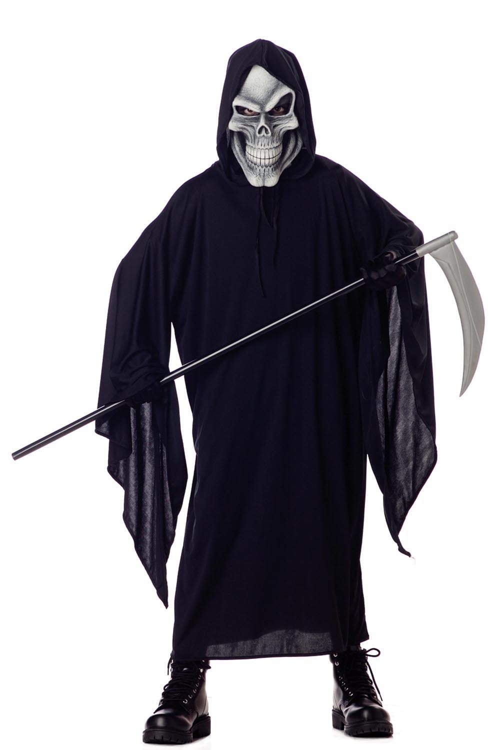 amazoncom california costumes grim reaper child costume large toys games