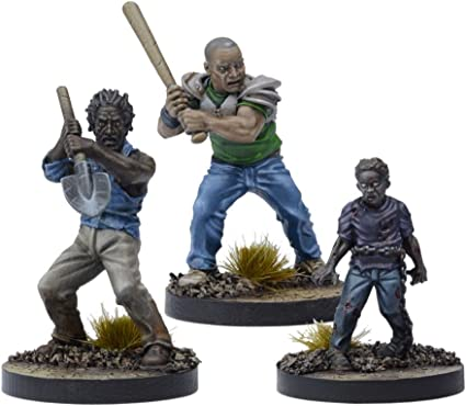 Andrea Booster MANTIC GAMES The Walking Dead All Out War EXPANSION