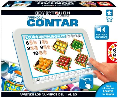 Educa Borrás 15436 - Educa Touch Junior Aprendo A Contar: Amazon.es: Juguetes y juegos