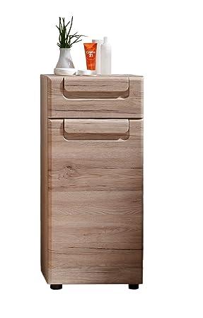 Trendteam Smart Living Badezimmer Schrank Kommode Malea 37 X 82 X