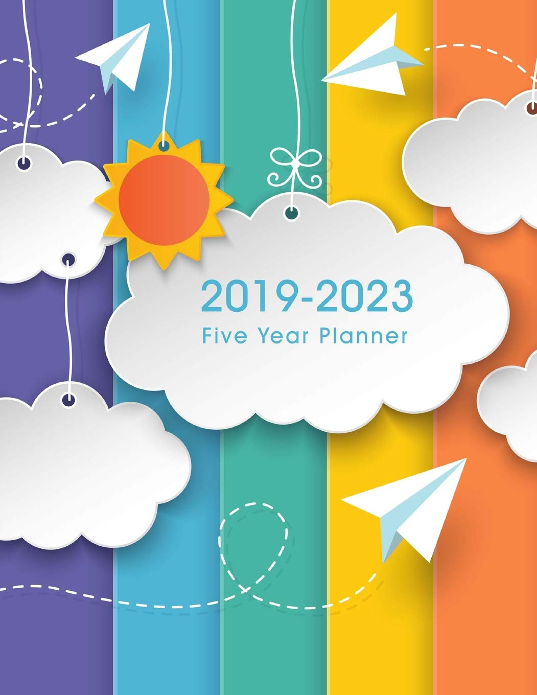 2019-2023 Five Year Planner: 60 Months Calendar, Monthly ...