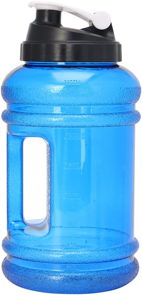 2L BAP Big Large Free Drink Water Bottle Cap Kettle PET Sport Gym Training Party