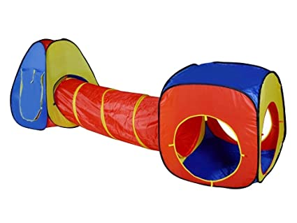 Image Unavailable. Image not available for. Color Pop Up Kids Children Tent Tunnel ...  sc 1 st  Amazon.com & Amazon.com: Pop Up Kids Children Tent Tunnel Set Combo Play Ground ...