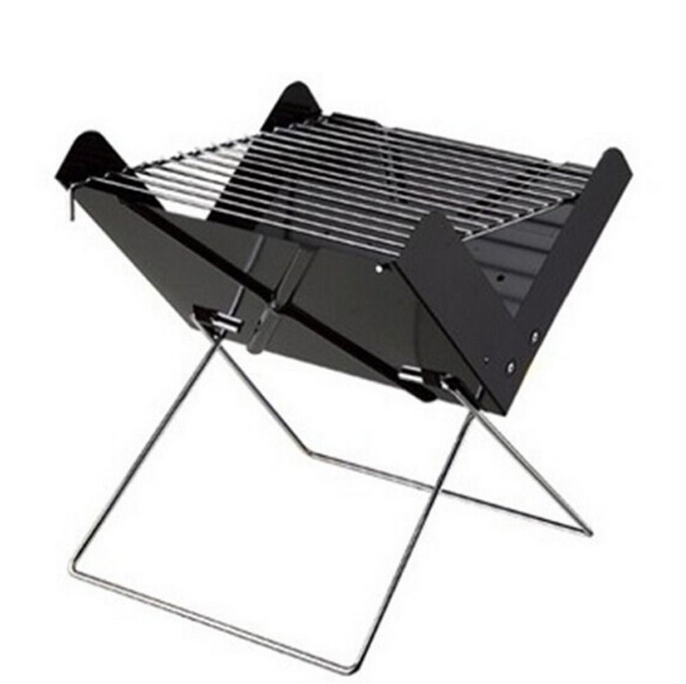 Demarkt Folding Grill Portable Picnic BBQ Grill Stove Foldable Barbecue Fireplaces Outdoor BBQ Pits Tool