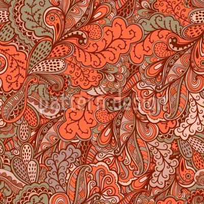 Uneekee Oriental Fantasies Shower Curtain: Large Waterproof Luxurious Bathroom Design Woven Fabric by uneekee (Image #2)