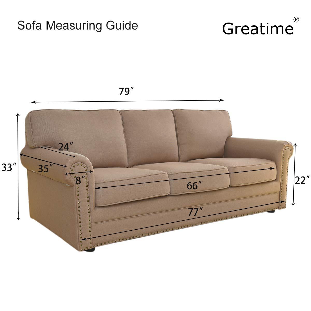 Greatime Estiramiento Funda de sofá del sofá de la Cubierta del Protector de Muebles sofá sofá Suave con elástico Antideslizante de Espuma niños ...