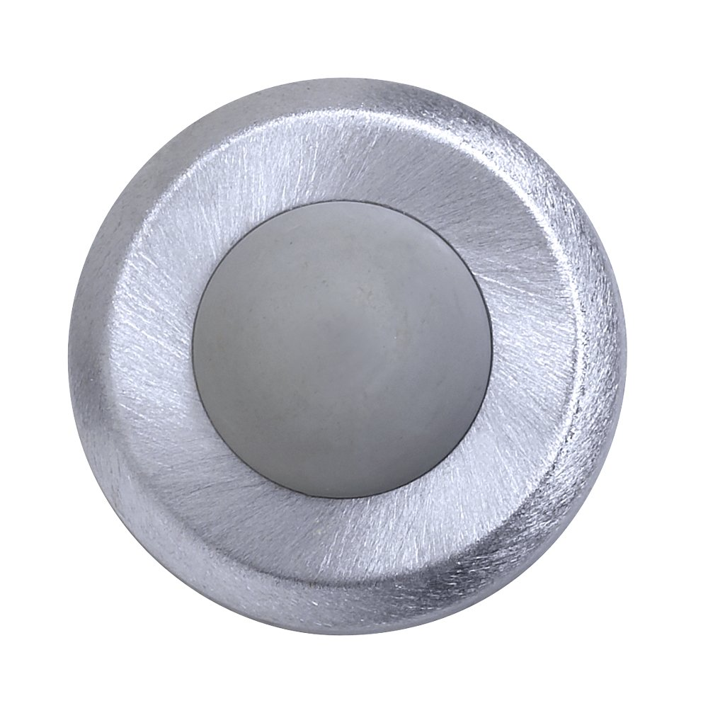 Satin Stainless Steel Wrought 2-1//2 Diameter Tell Manufacturing DT100085 Concave Wall Stop