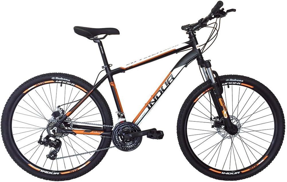 Esmaltina 2665403031 - Mountain Bike indur 27,5 Talla m Negra y ...
