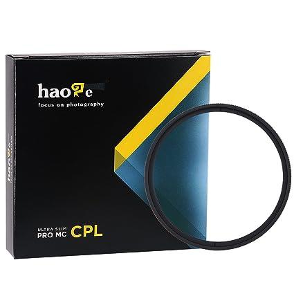 a00ea693d6c Haoge 46mm MC CPL Multicoated Circular Polarizer Polarizing Lens Filter for  Olympus M.Zuiko Digital